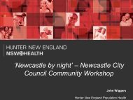 Newcastle City Council Community Workshop