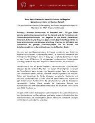 Neue deutschlandweite Vertriebsstruktur für Magellan - ppm GmbH