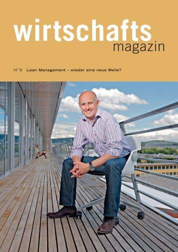 Lean Management – wieder eine neue Welle? - Schweizer Metallbau