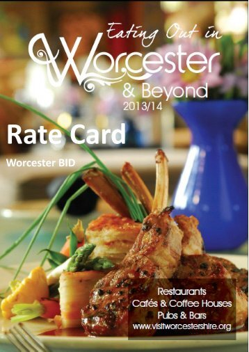 to download EOG Rate Card 2013 - BID.pdf - Worcester