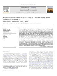Aqueous-phase reactive uptake of dicarbonyls as a source of ...