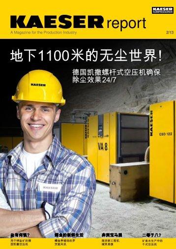 Kaeser 报告 - 凯撒空压机(上海) - Kaeser Kompressoren