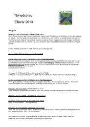 Program efterår 2013