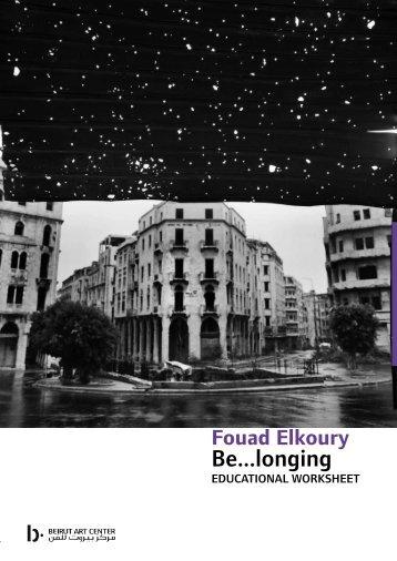 Be...longing - Beirut Art Center