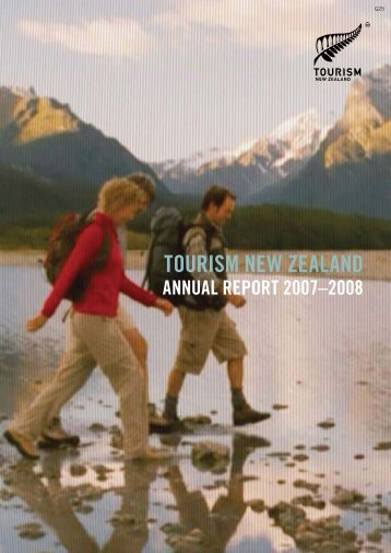 Annual Report 2007-2008 - Tourism New Zealand