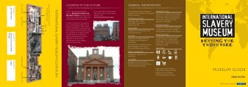 museum guide and floorplan - National Museums Liverpool