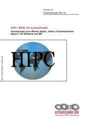 Download der Fachinformation (.pdf / 500kb) - Erlassjahr.de