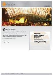 Nytår i Sydney - MarcoPolo