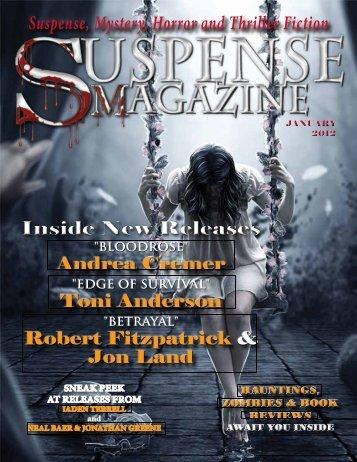 RoBeRt FitzPatRiCk - Suspense Magazine