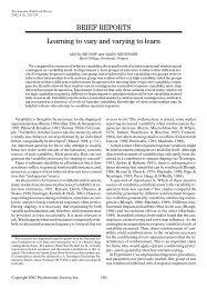 Grunow & Neuringer - Psychology and Child Development
