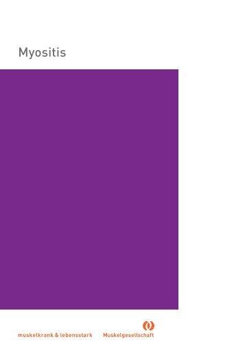 Myositis - Schweizerische Gesellschaft für Muskelkranke (SGMK)