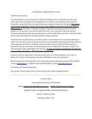 Response Slip - J. Sterling Morton High School District 201