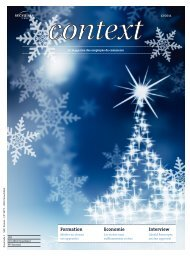 Context N° 12 2011 - Avent (PDF, 9761 kb) - Sec Suisse
