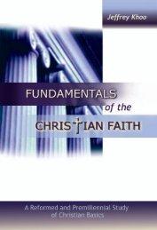 Fundamentals of the Christian Faith - Far Eastern Bible College