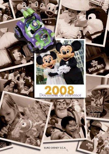 a. presentation generale du groupe - Euro Disney SCA