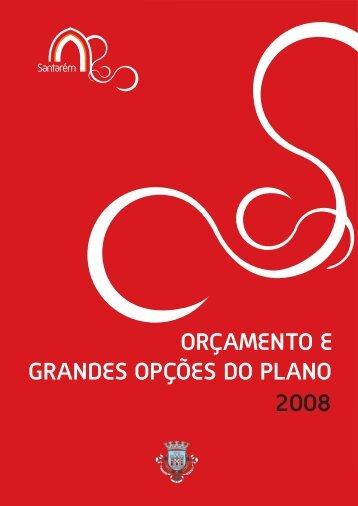 Orçamento e Grandes Opções do Plano 2008.pdf - Câmara ...