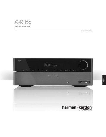 AVR 156 - Harman Kardon