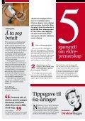 Skaper nye virksomheter - Senter for seniorpolitikk - Page 2