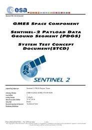 GSC Sentinel-2 PDGS System Test Concept Document - emits - ESA