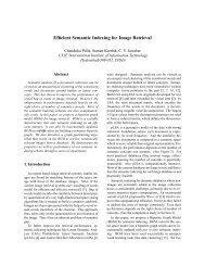 Efficient Semantic Indexing for Image Retrieval - CVIT