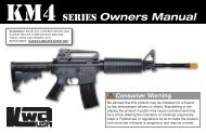 Owners Manual KM4 SERIES - Softair-Center KG