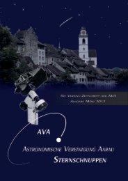 Sternschuppen-Ausgabe März 2013 - Astronomische Vereinigung ...