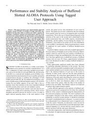 Performance and stability analysis of buffered slotted ALOHA - CUNY