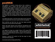 PodMIX manual rev 2 (2012).cdr - Whirlwind