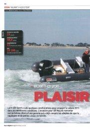Valiant V-620 Sport-Plaisir partagé - Brunswick Marine