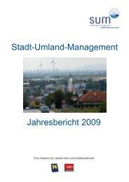 Stadt-Umland-Management Jahresbericht 2009
