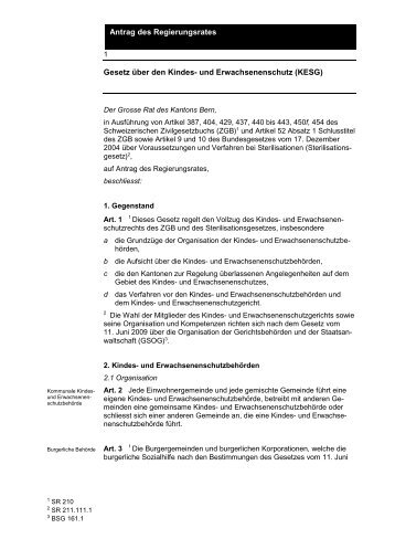 Gesetzesentwurf - kbk