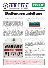 Bedienungsanleitung deutsch (ca. 1.332 KB) - Emcotec