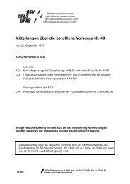 Nr. 40 - Bundesamt für Sozialversicherungen - admin.ch