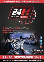 30. september 2012 eupener karting 24h in out 1km