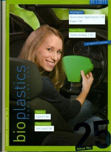 Bioplastics Magazine - Plastic Engineering Associates Licensing, Inc.