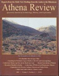 Athena Review – Vol.3 No.4 2003 - Tibet Archaeology