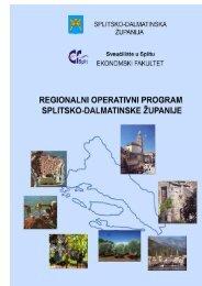 Regionalni operativni program Splitsko-dalmatinske županije.