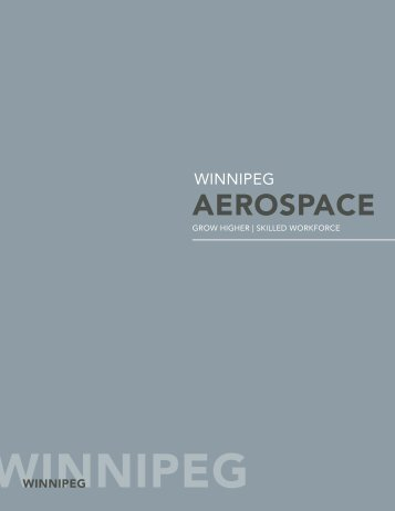 Winnipeg's aerospace - Economic Development Winnipeg