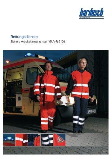 Rettungsdienste - Bardusch