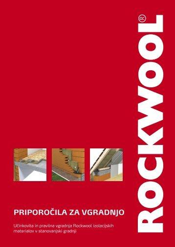 Rockwool - priporočila za vgradnjo - Ravago