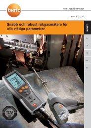 testo 327-1 - Nordtec Instrument AB