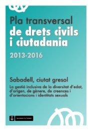Pla transversal de drets civils i ciutadania. - Ajuntament de Sabadell
