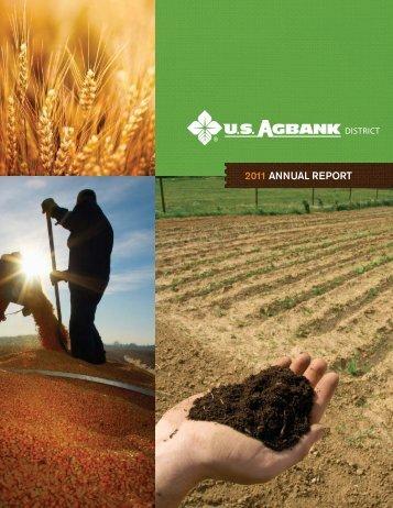 2011 ANNUAL REPORT - CoBank