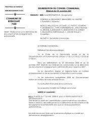 LE COLLEGE ECHEVINAL, - Bernissart