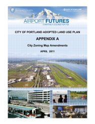 APPENDIX A - PDX Airport Futures