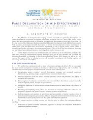 Paris Declaration - Organisation for Economic Co-operation and ...