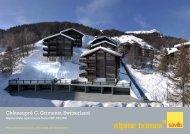 Châteaupré C, Grimentz, Switzerland - Ski chalets for sale