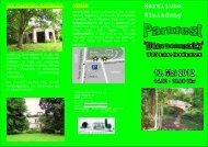 Herzliche Einladung - Förderverein Park Hohenrode