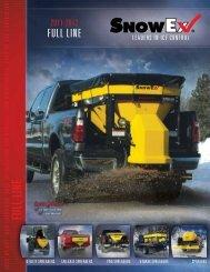 SnowEx Full Line Catalog - Heavy Duty Equipment