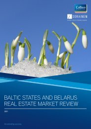 baltic states and belarus real estate market review - Sorainen